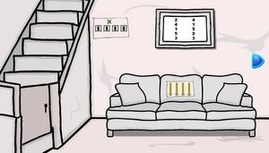 Jouer à White and black enclave room escape