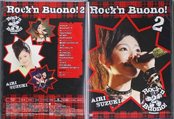 Sorties liées : Buono! - Live ~Rock'n Buono! 2~