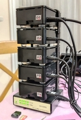 raspberry pi 4,cluster,supercomputer