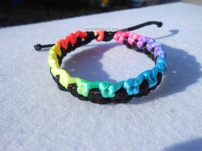 Bracelet - Crossed Chain (2)