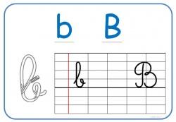 Affichage écriture Alphas/ cursive 2012/2013