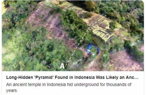 Les pyramides dans le monde