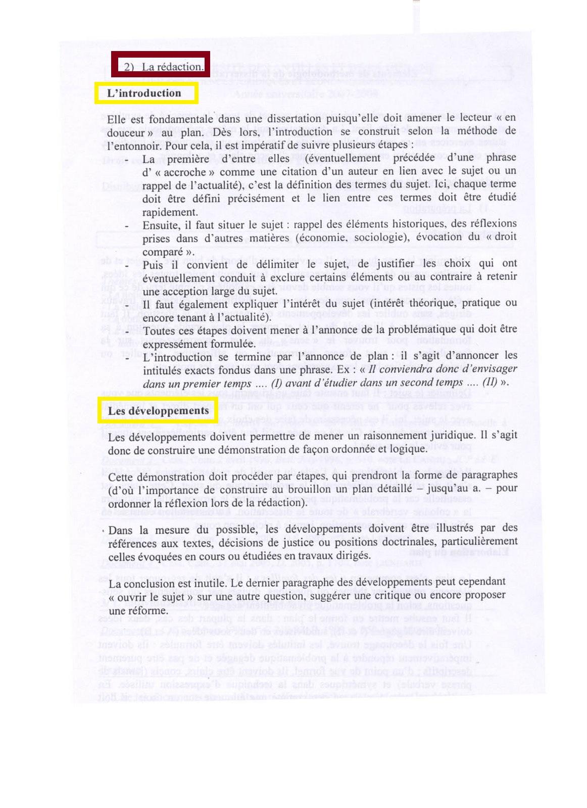 Dissertation Droit Civil