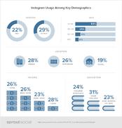Données démographiques Instagram