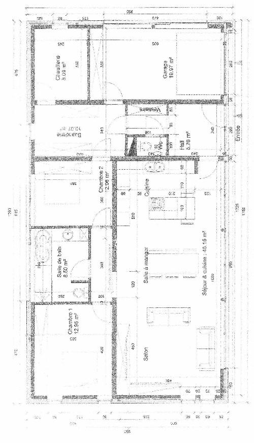 Plan Maison Passive Plain Pied Nwb06 Napanonprofits