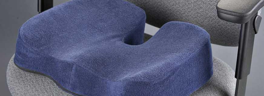 Подушка для водителя на сиденье от геморроя купить