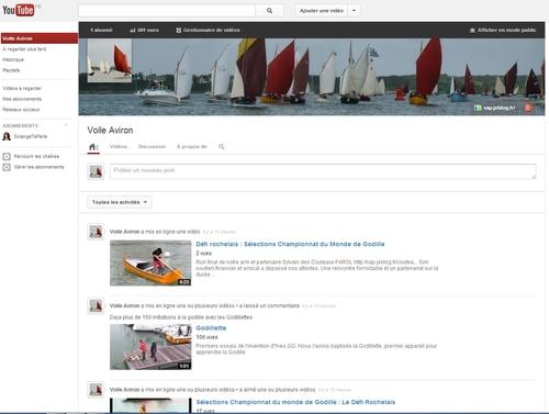 VA-TV première chaîne TV consacré aux voile-aviron