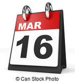Agenda du 16 mars : complet !!