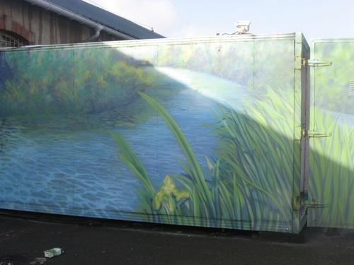 D'autres peintures murales dans les rues de Saint Nazaire