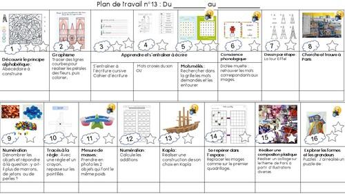 Plan de travail n°13