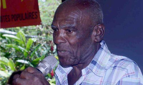 - Gloire au camarade Martin, militant marxiste léniniste, doyen du CNCP de Martinique