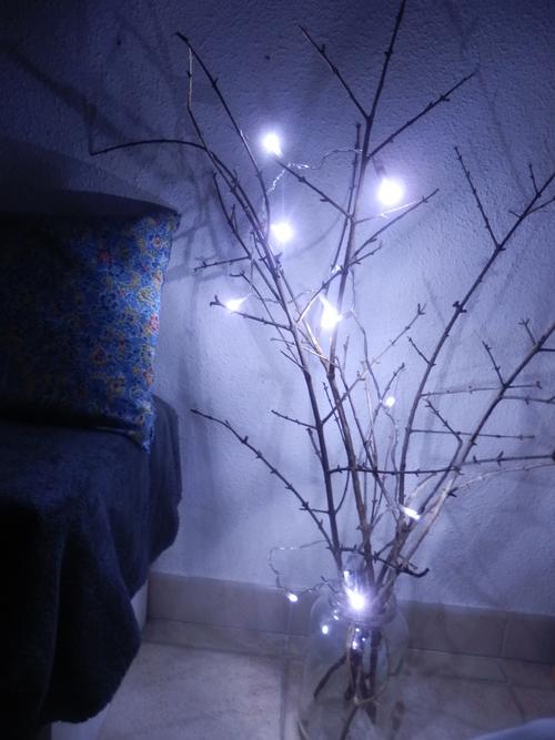 L'arbre de Noël fait main