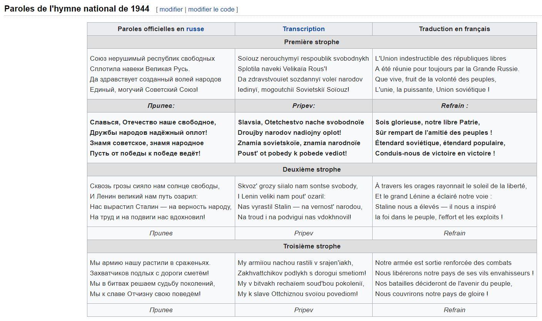 HYMNE SOVIETIQUE TÉLÉCHARGER