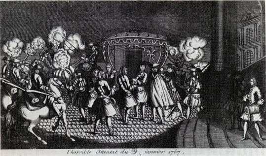 L'attentat de Damiens - 5 janvier 1757 - Les histoires qui font l'Histoire  ....