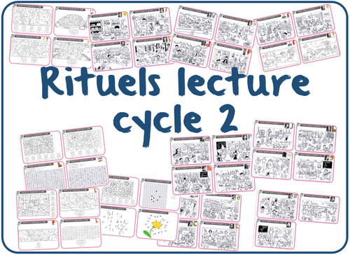 rituels lecture cycle 2