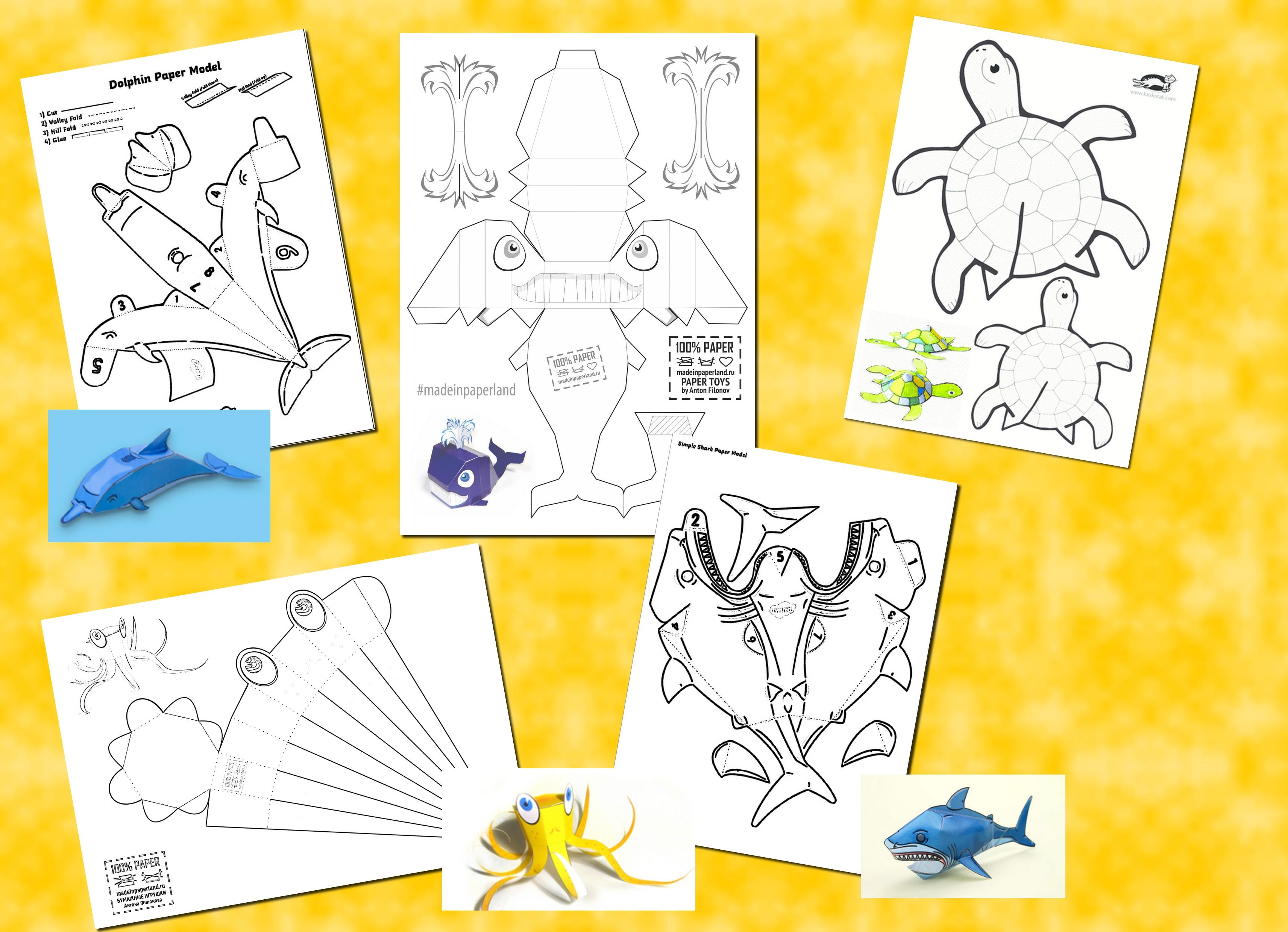 presentation maquettes animaux