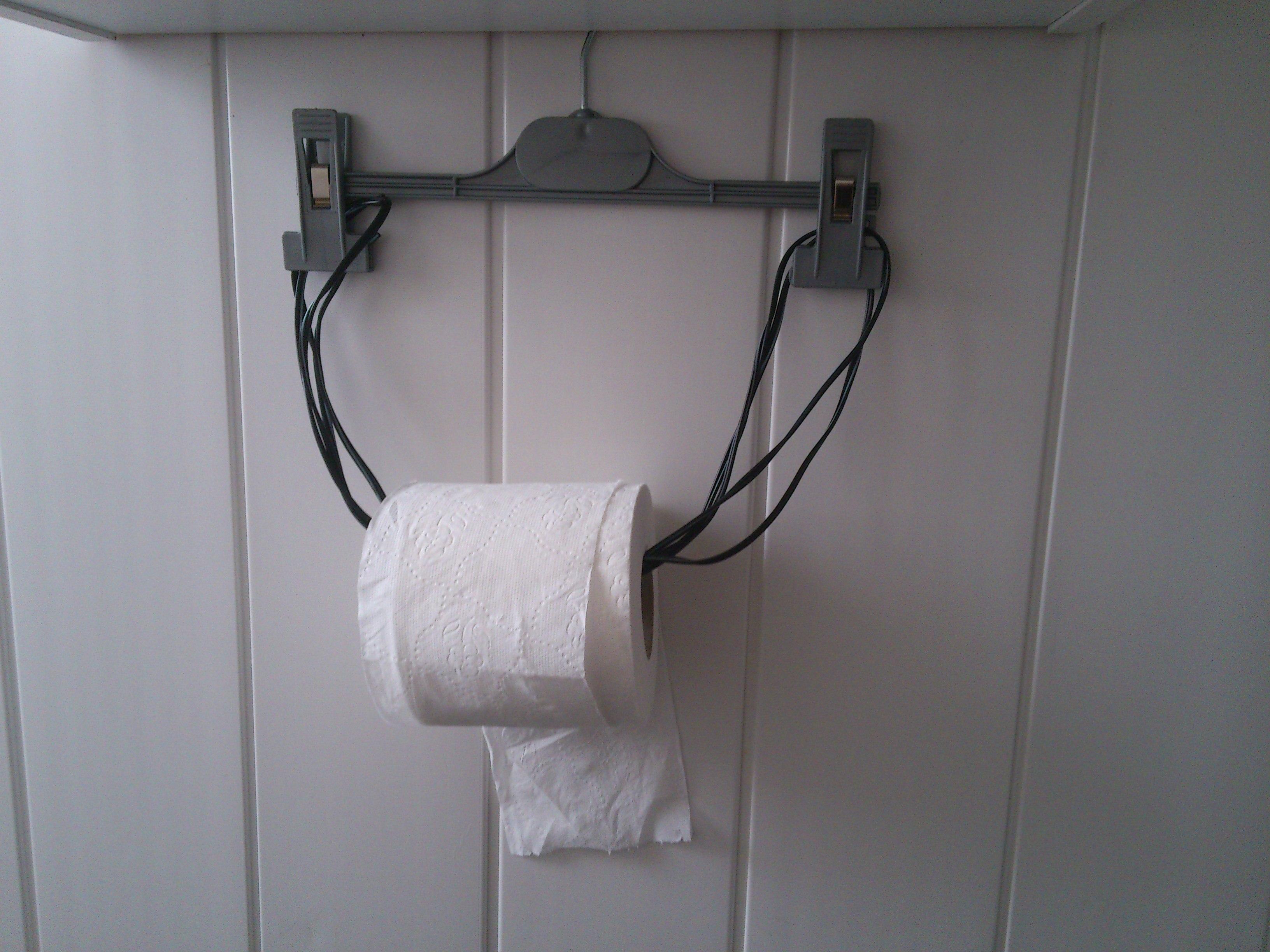 Fabriquer Un Dévidoir Papier Toilette annee 2014::bricolage::fabriquer un derouleur pour papier wc