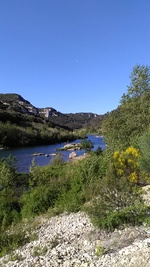 LUNDI 24 AVRIL 2017 - LES GORGES DU GARDON - COLLIAS (Gard)
