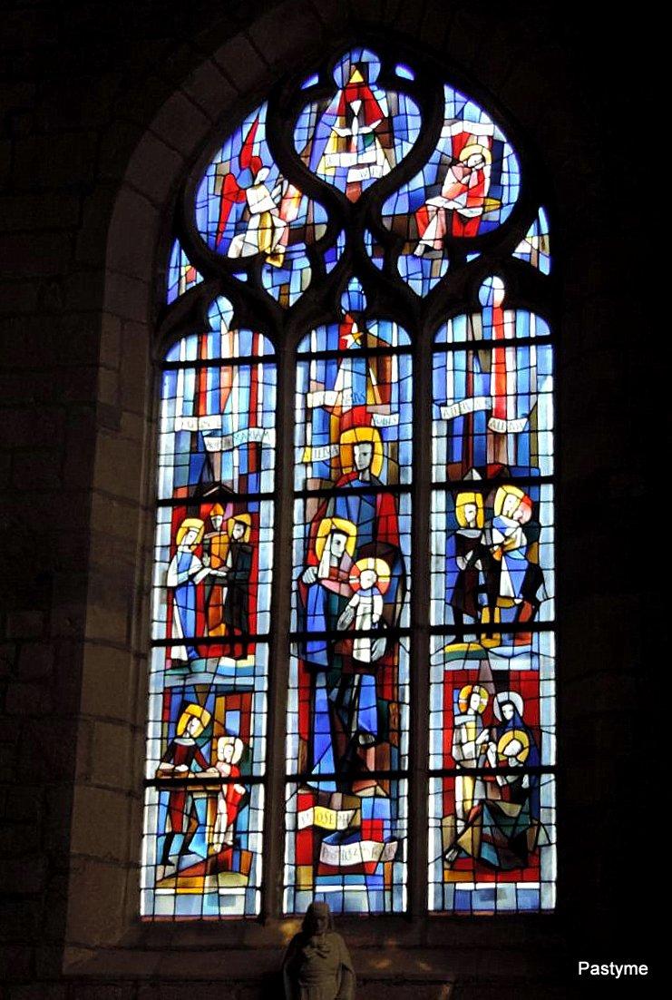 Eglise SAINT ARMEL - PLOËRMEL (56)....intérieur