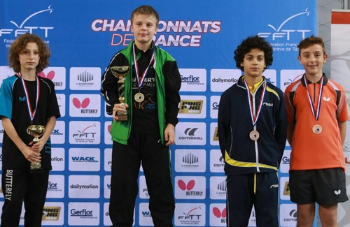 Championnat de France Minimes/Juniors 2017 - Résultats