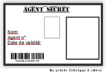Admirable Mission top secrète: organiser un anniversaire agent secret - Ma WQ-66