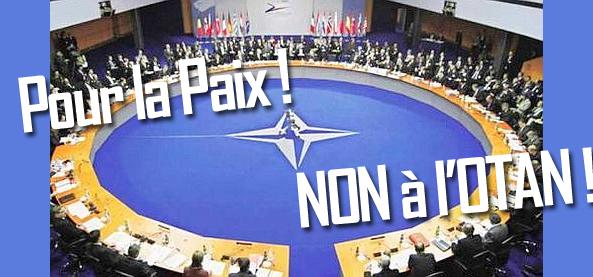 """Résultat de recherche d'images pour """"Non à l'OTAN"""""""
