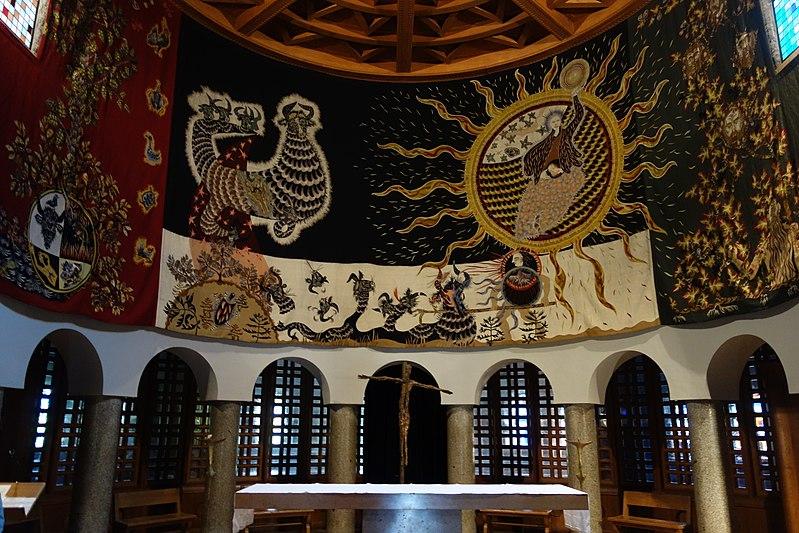 image illustrative de l'article Église Notre-Dame-de-Toute-Grâce du plateau d'Assy