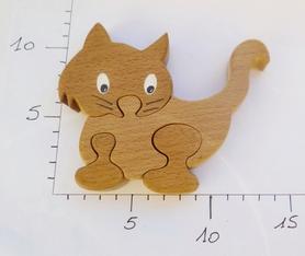 chat;cat;bois;animaux;puzzle;jouet;enfant;kid;