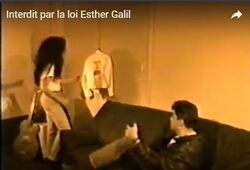 "Clip d'Esther Galil ""Interdit par La loi"""