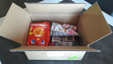 FOOD | Candybox d'avril 2017