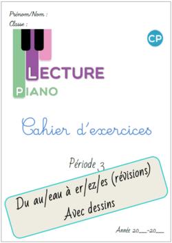 Cahier d'exercices Piano de la P3