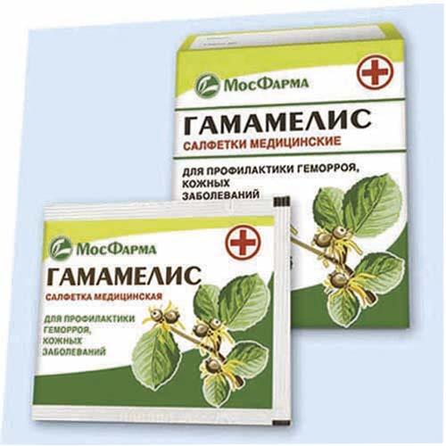 Лечение от геморроя гамамелис