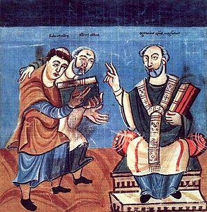 Saint Raban Maur, Abbé de Fulda et archevêque de Mayence († 856)