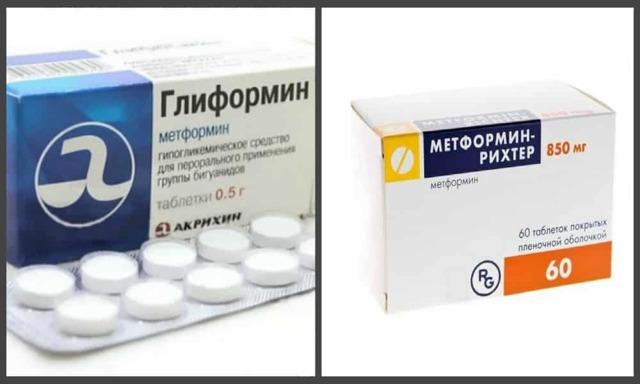 Диабет глиформин или глюкофаж