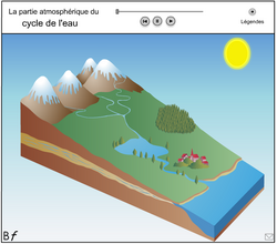 Animation flash : Le cycle de l'eau
