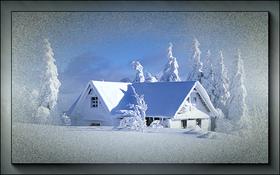 Winter Landskape. 2