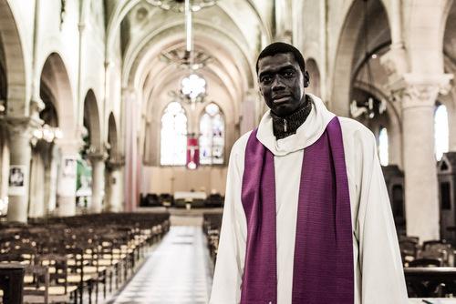 Portrait : Henri, Prêtre, Église Ste Marthe des 4 chemins