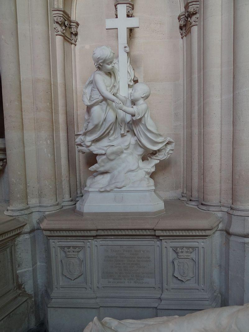 Tombeau de Charles d'Orléans (1875 - 1875) et de Jacques d'Orléans (1880 - 1881) 1.jpg