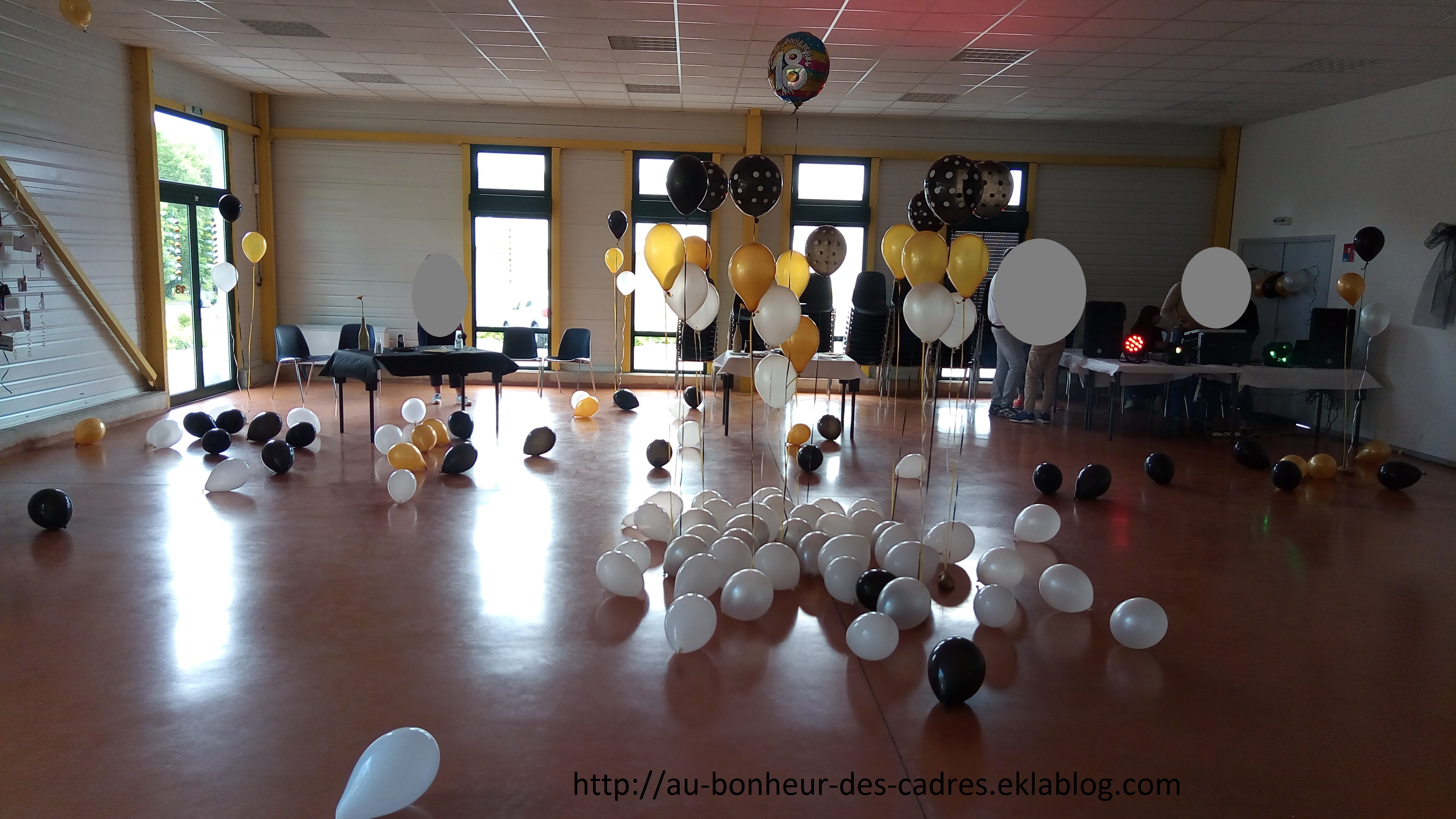 Deco D Anniversaire 18 Ans Au Bonheur Des Cadres