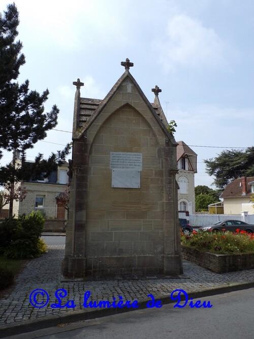 Saint Aubin sur mer, la chapelle de la Vierge