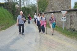 La balade du 23 avril à Banneville-sur-Ajon