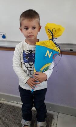 Mein 1. Schultag im Kindergarten