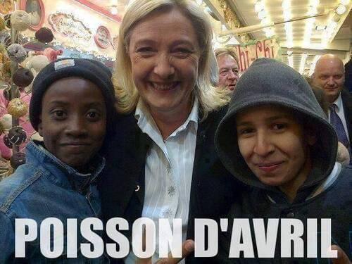 Marine Le Pen aime le beur !!!
