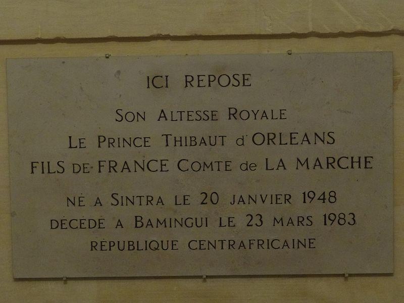 Tombeau de Thibaut d'Orléans (1948 - 1983) 2.jpg