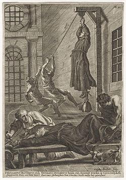 Saint Saint Nicolas Owen. Frère convers jésuite en Angleterre († 1606)