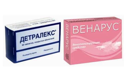 Венозол или детралекс что лучше при геморрое