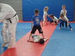 Des judokas en herbe