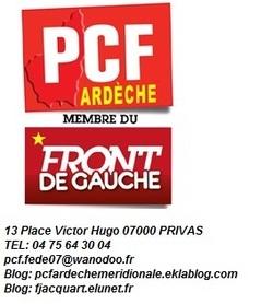 Communiqué de presse PCF07