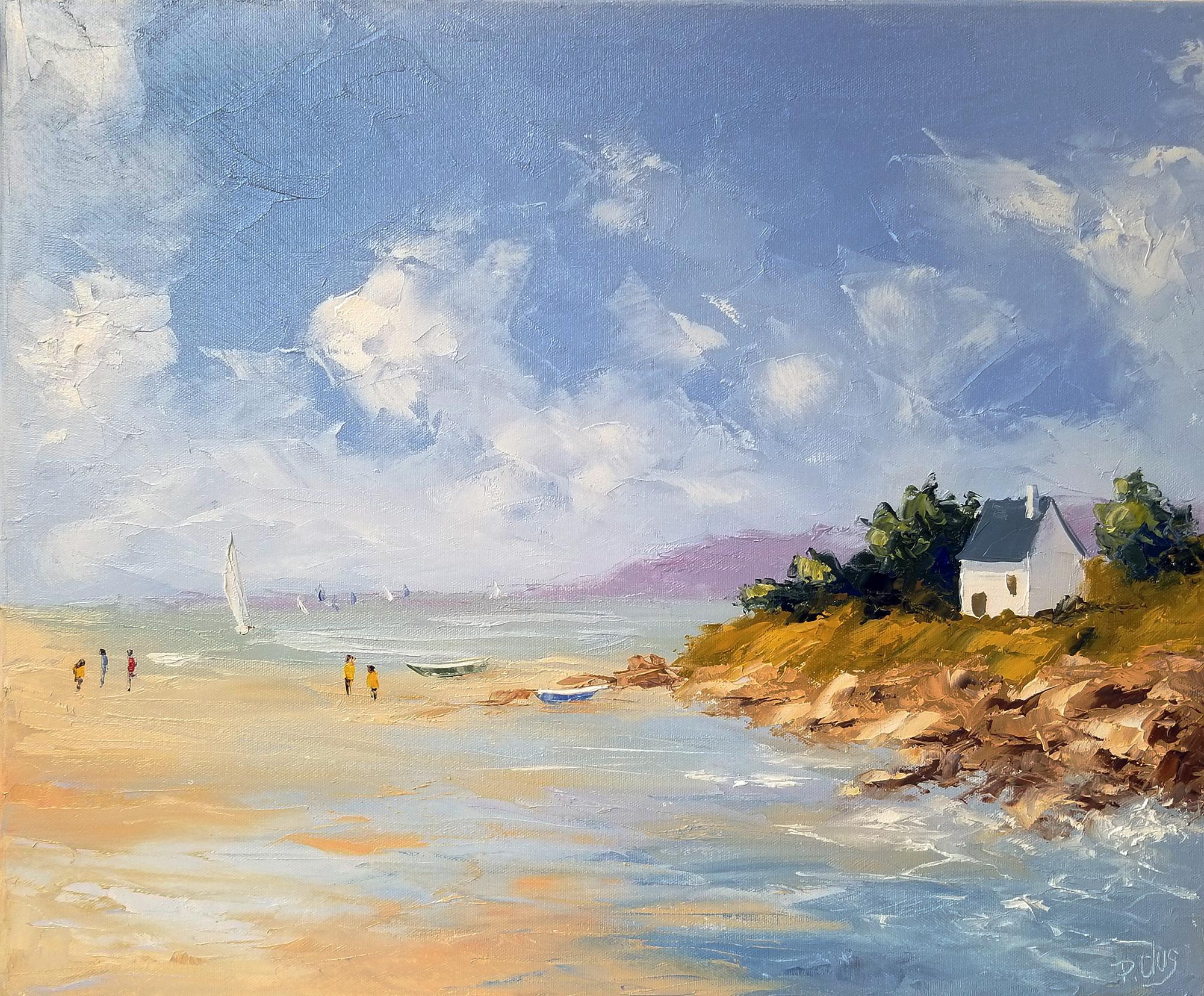 Plus adapté Dessin et peinture - vidéo 3070 : Peindre un paysage marin de MY-18