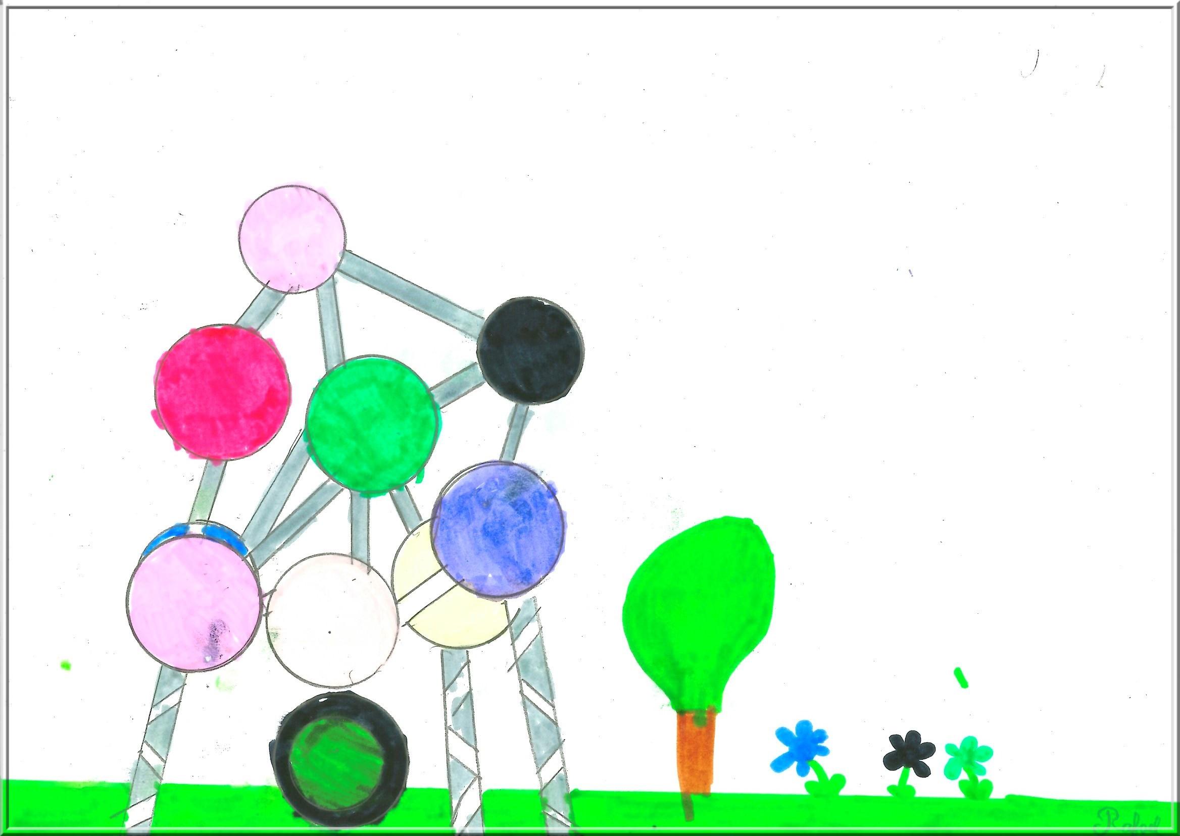 L'atomium - coraliecaramel